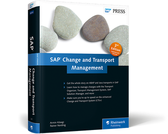Cover von SAP Change and Transport Management