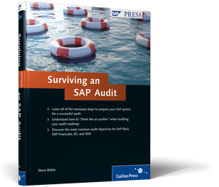 Cover of Surviving an SAP Audit