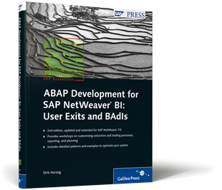 Cover von ABAP Development for SAP NetWeaver BI: User Exits and BAdIs