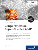 Cover von Design Patterns in Object-Oriented ABAP