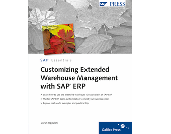 Cover von Customizing Extended Warehouse Management with SAP ERP