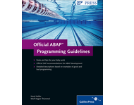 Cover von Official ABAP Programming Guidelines
