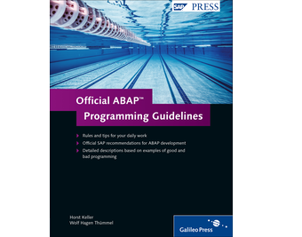Cover of Official ABAP Programming Guidelines