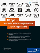 Cover von BRFplus—Business Rule Management for ABAP Applications