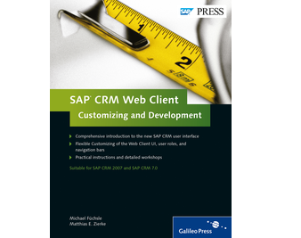 Cover von SAP CRM Web Client—Customizing and Development