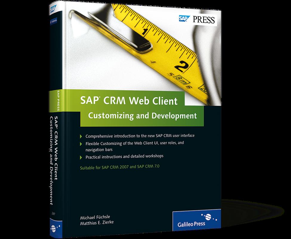 Sap Crm Webclient Customizing And Development Pdf