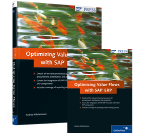 Cover von Optimizing Value Flows with SAP ERP