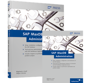 Cover von SAP MaxDB Administration