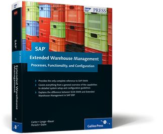 Cover of SAP Extended Warehouse Management: Processes, Functionality, and Configuration
