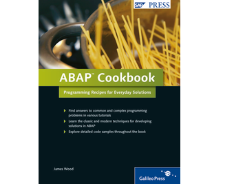 Cover von ABAP Cookbook