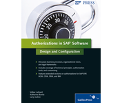 Cover von Authorizations in SAP Software: Design and Configuration