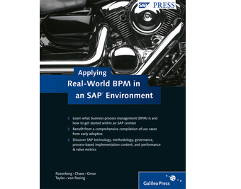 Cover von Applying Real-World BPM in an SAP Environment