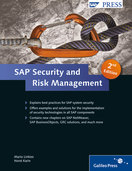 Cover von SAP Security and Risk Management