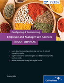 Cover of Configuring and Customizing Employee and Manager Self-Services in SAP ERP HCM