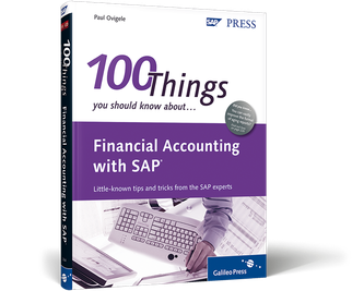 Cover von Financial Accounting with SAP