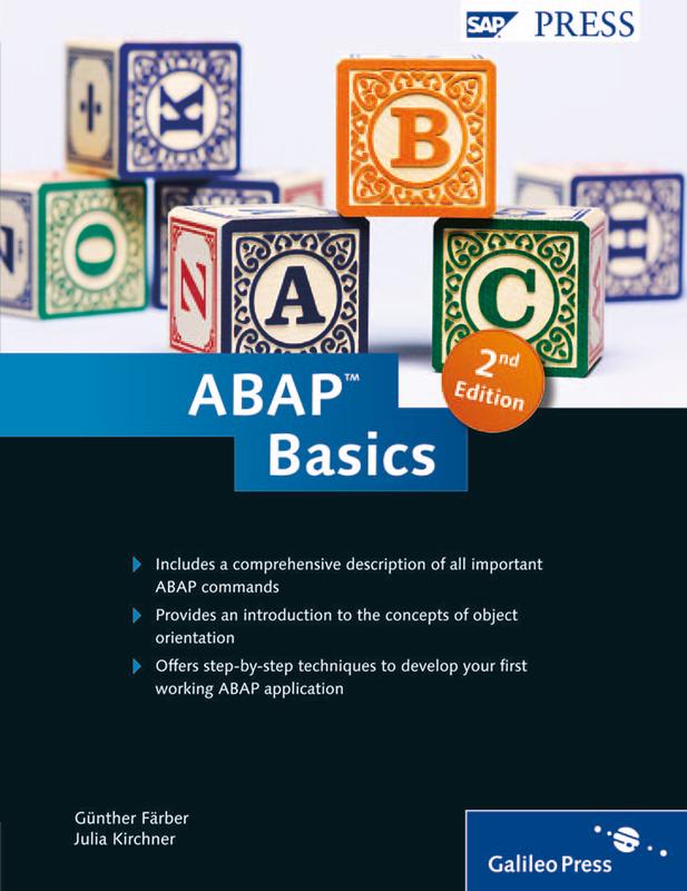 ABAP Objects: ABAP Programming in SAP NetWeaver ...