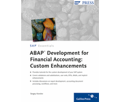 Cover of ABAP Development for Financial Accounting: Custom Enhancements