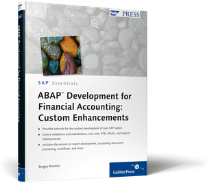 Cover von ABAP Development for Financial Accounting: Custom Enhancements