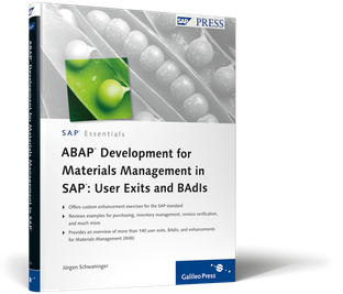 Cover von ABAP Development for Materials Management in SAP: User Exits and BAdIs