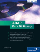 Cover of ABAP Data Dictionary