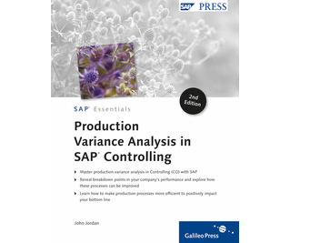 Cover von Production Variance Analysis in SAP Controlling