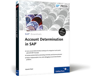 Cover of Account Determination in SAP