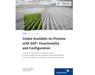Cover von Global Available-to-Promise with SAP: Functionality and Configuration