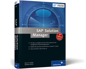 Cover of SAP Solution Manager