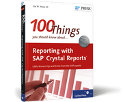 Cover of Reporting with SAP Crystal Reports