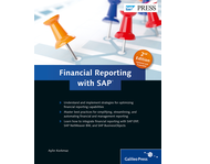 Cover of Financial Reporting with SAP