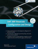 Cover of SAP ERP Financials: Configuration and Design