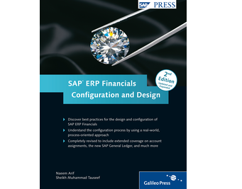 Cover von SAP ERP Financials: Configuration and Design