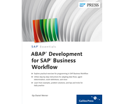 Cover of ABAP Development for SAP Business Workflow
