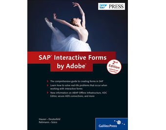 Cover of SAP Interactive Forms by Adobe