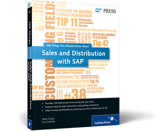 Cover of Sales and Distribution with SAP