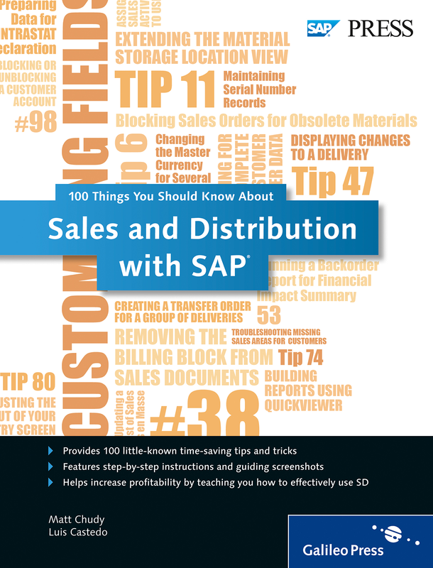 Reviews for the book Sales and distribution with sap®: making sap sd® work for your business