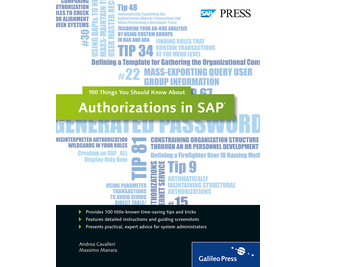 Cover of Authorizations in SAP