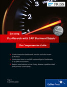 Cover von Creating Dashboards with SAP BusinessObjects