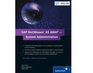 Cover von SAP NetWeaver AS ABAP—System Administration