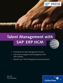 Cover of Talent Management with SAP ERP HCM