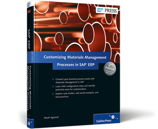 Cover von Customizing Materials Management Processes in SAP ERP