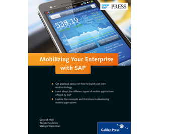 Cover von Mobilizing Your Enterprise with SAP