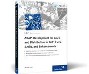 Cover of ABAP Development for Sales and Distribution in SAP