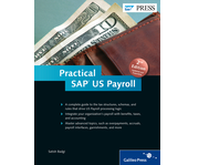 Cover of Practical SAP US Payroll
