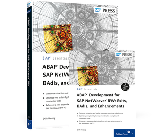 Cover von ABAP Development for SAP NetWeaver BW