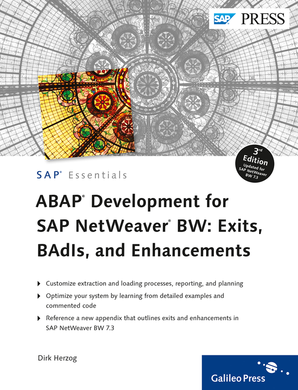 abap development for sap netweaver bw. exits, badis, a -sap press