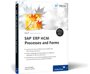 Cover of SAP ERP HCM Processes and Forms