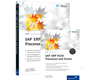 Cover von SAP ERP HCM Processes and Forms