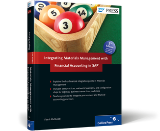 Cover von Integrating Materials Management with Financial Accounting in SAP
