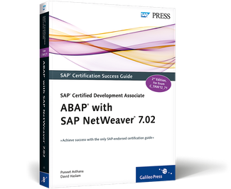 Cover of SAP Certified Development Associate—ABAP with SAP NetWeaver 7.02